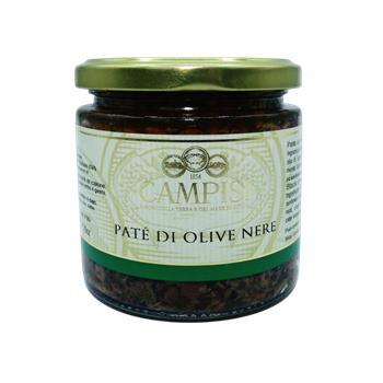 Campisi - Nátierka z čiernych olív 220g