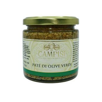 Campisi - Nátierka zo zelených olív 220g
