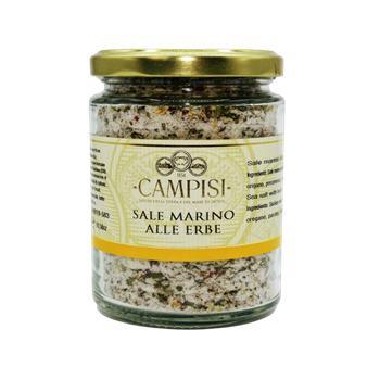 Campisi - Morská soľ Alle Erbe 300g