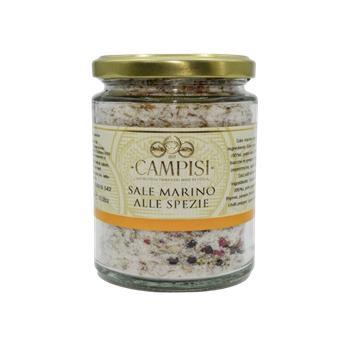 Campisi - Morská soľ Alle Spezie 300g