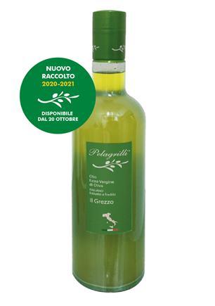 Pelagrilli - Extra Vergine di Oliva Italiano GREZZO 0,75L